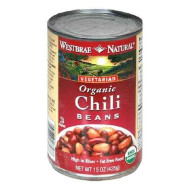 Westbrae Foods Chili Beans Fat Free (12X15 Oz)