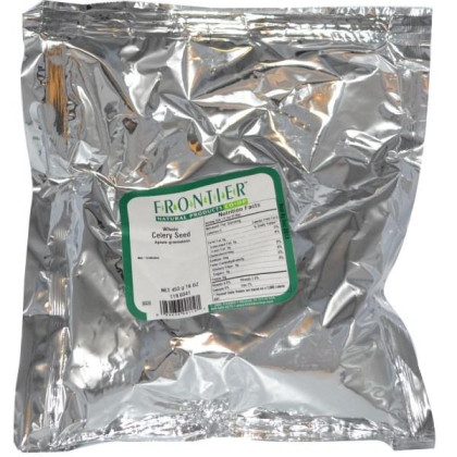Frontier Herb Whole Celery Seed (1X1Lb)