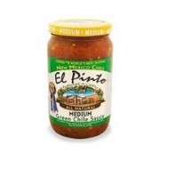 El Pinto Medium Green Chili Sauce (6X16 Oz)