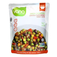 Vana Life Legume Bowl With Green Chickpeas, Chipotle, Black Beans, And Sweet Corn (6X10 Oz)