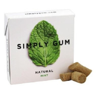 Simply Gum All Natural Gum Mint (12X15 Ct)