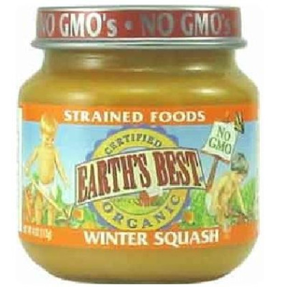 Earth'S Best Baby Foods Baby Wntr Squash (12X4Oz )
