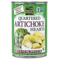 Native Forest Artichoke Hearts, Quartered, 14-Ounce Cans (Pack Of 6)