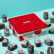 David'S Valentines Day Chocolate Covered Brownie Bites In Gift Tin €
