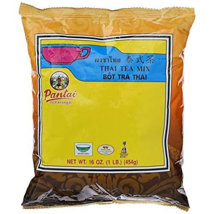 Thai Iced Tea Traditional Restaurant Style,16 Oz (1Lb.)
