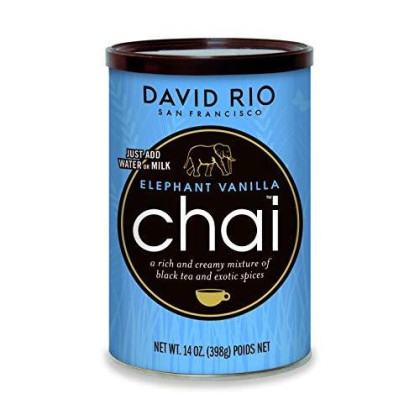 David Rio Chai Mix, Elephant Vanilla, 14 Ounce