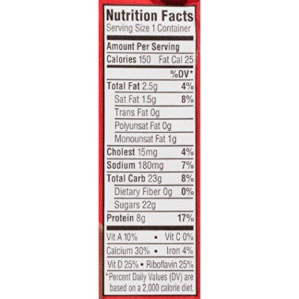 Horizon Organic, Low Fat Milk, Chocolate, 8-Ounce Aseptic Cartons (Pack Of 12), 8G Protein And 30% Dv Calcium, Juice Box Alternative