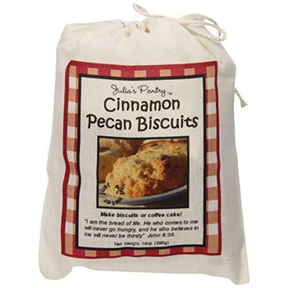 Julia'S Pantry Biscuits, Cinnamon Pecan, 14 Ounce