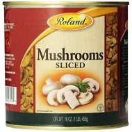 Roland Mushrooms, Sliced, 16 Ounce (Pack Of 4)