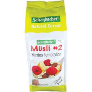 Seitenbacher Muesli #2 Berries Temptation, 16 Ounce
