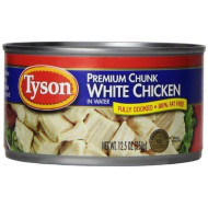 Tyson Premium Chunk White Chicken, 12.5-Ounce Cans (Pack Of 12)