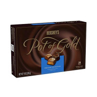 HERSHEY'S POT OF GOLD Assorted Milk and Dark Chocolate Premium Collection, 10 Ounce