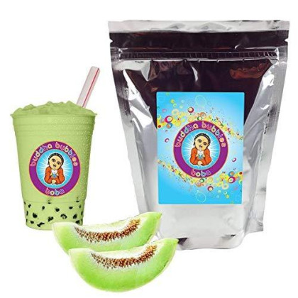 Honeydew Boba/Bubble Tea Powder By Buddha Bubbles Boba 1 Pound (16 Ounces) | (453 Grams)