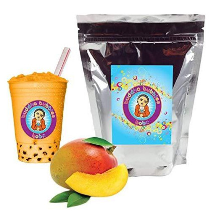 Mango Boba/Bubble Tea By Buddha Bubbles Boba 1 Pound (16 Ounces) | (453 Grams)
