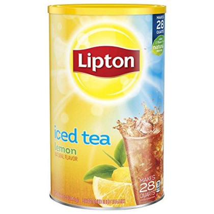 Lipton Iced Tea Mix, Lemon, 6.5 Ounce, Pack Of 1