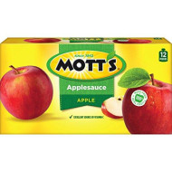 Mott'S Applesauce, 3.2 Oz Pouches, 12 Count (Pack Of 4)