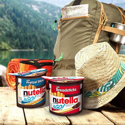 Nutella & Go! Hazelnut Spread With Breadsticks, Pack Of 4