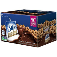 Silk Almond Milk, Dark Chocolate, 8 Fluid Ounce (Pack Of 12)
