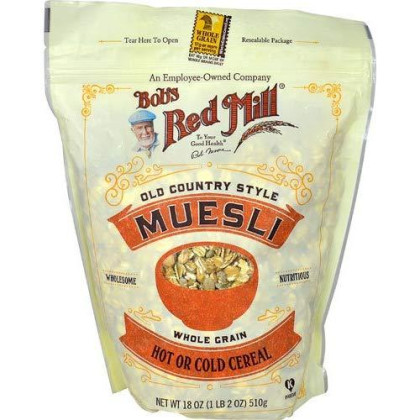 Bob'S Red Mill Old Country Style Muesli Whole Grain Cereal 18 Oz
