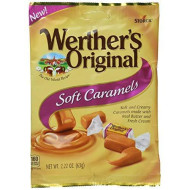 Werther'S Original New Soft Caramels 2.22 Oz (63G) (6 Pack)
