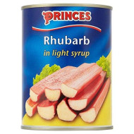 Princes Rhubarb In Light Syrup (540G) - Pack Of 2