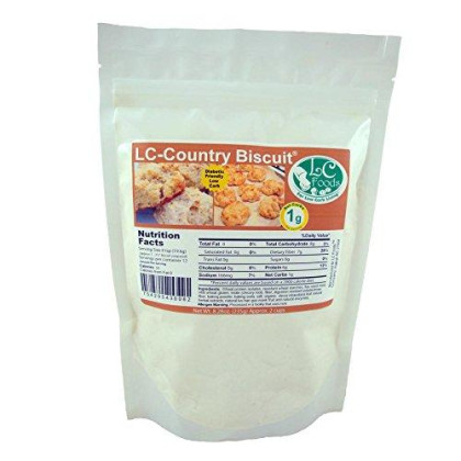 Low Carb Country Biscuit Mix - Lc Foods - All Natural - No Sugar - Diabetic Friendly - 8.28 Oz