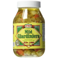 Ziyad Giardiniera Mediterranean Peppers Mix, Mild, 32 Ounce (Pack 1)