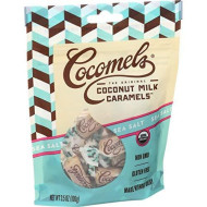 Sea Salt Cocomels Coconut Milk Caramels - Organic - Made Without Dairy - Kosher - Gmo Free - Sea Salt 1 Pack