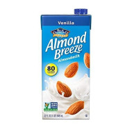 Almond Breeze Almond Milk, Vanilla, 32 Ounce (Pack Of 6)