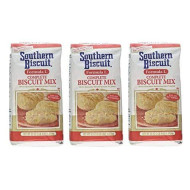 Southern Biscuit Formula L Complete W/Golden Shortening Flakes Biscuit Mix, 3 - 52Oz Pkgs