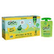 Gogo Squeez Applesauce On The Go, Apple Banana, 3.2 Ounce (12 Pouches), Gluten Free, Vegan Friendly, Healthy Snacks, Unsweetened Applesauce, Recloseable, Bpa Free Pouches