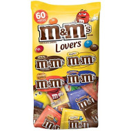 M&M'S Candy Fun Size Variety Mix 33.08-Ounce 60-Piece Bag