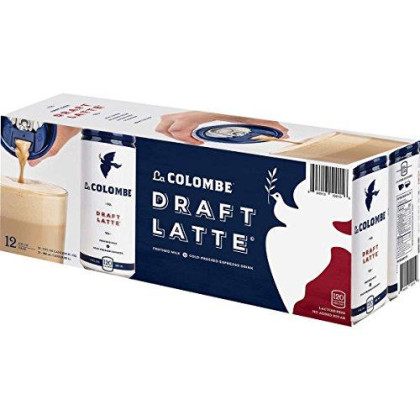 La Colombe Draft Latte Cold Pressed Espresso Drink 9Oz. Can (Pack Of 12)
