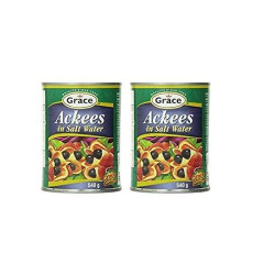 Grace Ackees In Salt Water Cans, 19 Ounce (Pack Of 2)