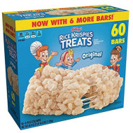 Kellogg'S Rice Krispies New 60Ct Treats Bars