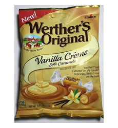 Werther'S Original Vanilla Creme Soft Caramels, 4.51 Oz Pack Of 4