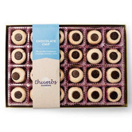 Thumbs Cookies Large Gift Box Of Fresh Baked Gourmet Cookies - All Chocolate Chip Cookies - 48 Cookies In Each Box - The Perfect Gift Basket