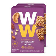 Ww Sweet And Salty Nut Mini Bar - High Protein Snack Bar, 2 Smartpoints - 2 Boxes (24 Count Total) - Weight Watchers Reimagined