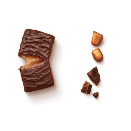 Ww Chocolate Caramel Mini Bar - Snack Bar, 2 Smartpoints - 3 Boxes (36 Count Total) - Weight Watchers Reimagined