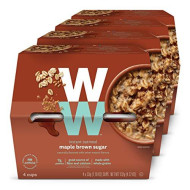 Ww Maple Brown Sugar Instant Oatmeal - 3 Smartpoints - 4 Boxes (16 Count) - Weight Watchers Reimagined