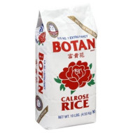 Botan, Rice Calrose, 10 Lb, (Pack Of 4)