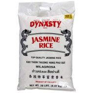 Dynasty, Rice Jasmine, 20 Lb, (Pack Of 1)