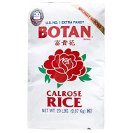 Botan, Rice Calrose, 20 Lb, (Pack Of 1)