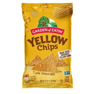 Garden Of Eatin, Chip Trtla Yelw Corn Org3, 16 Oz, (Pack Of 12)