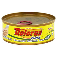 Dolores, Tuna Yellowfin In Oil, 5 Oz, (Pack Of 24)