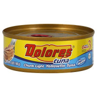Dolores, Tuna Yellowfin In Wtr, 5 Oz, (Pack Of 24)