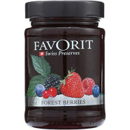Favorit, Preserve Forest Berry, 12.3 Oz, (Pack Of 6)