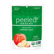 Peeled Snacks, Snack Apple To The Core, 2.8 Oz, (Pack Of 12)