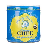 Purity Farms, Ghee Clarified Butter Org, 7.5 Oz, (Pack Of 6)