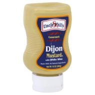 Uncle Phils, Mustard Grmt Dijon, 10 Oz, (Pack Of 6)